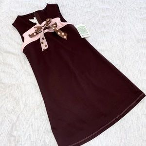 Bonnie Jean girls dress with bow size 14